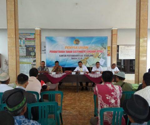 Penyuluhan Pendaftaran Tanah Sistematis Lengkap