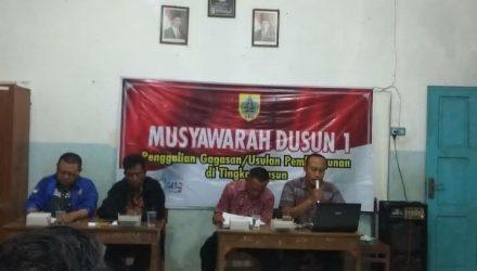 Musyawarah Dusun 1 dan Musyawarah Dusun 2 Desa Surajaya